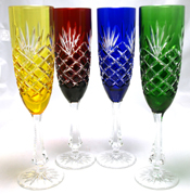 Fabrege Champagne Flutes