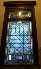 Restored Stairwell Window