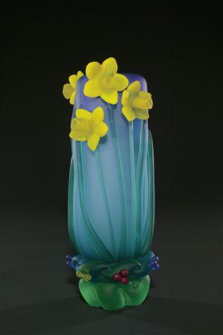 Rush Daffodil Vase