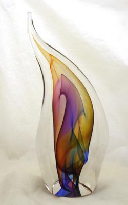 Paul Harriue River Leaf Sculpture