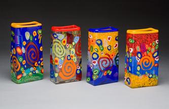 Mad Art Rectangle vases