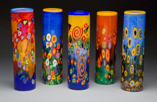 Mad Art Cyclinder vases
