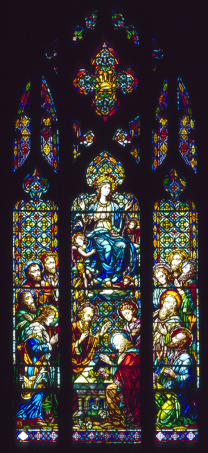 Nativity assumption window