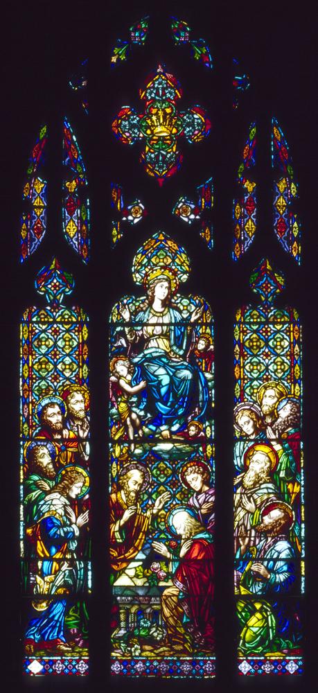Nativity assumption window
